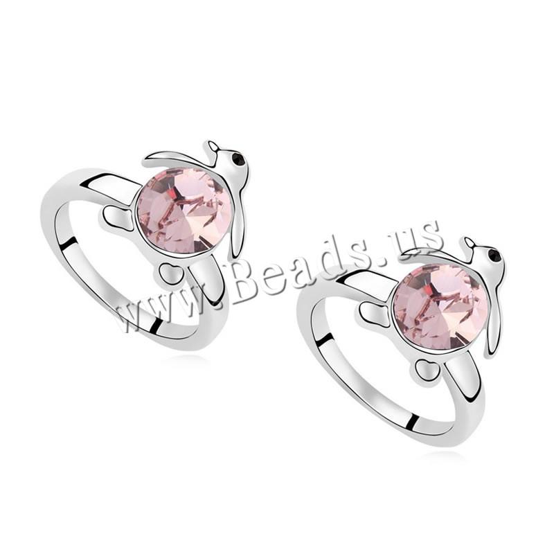 Buy CRYSTALLIZED™ Element Crystal Finger Ring Zinc Alloy Penguin platinum plated Lt Amethyst 1.8cm US Ring Size:7 Sold PC