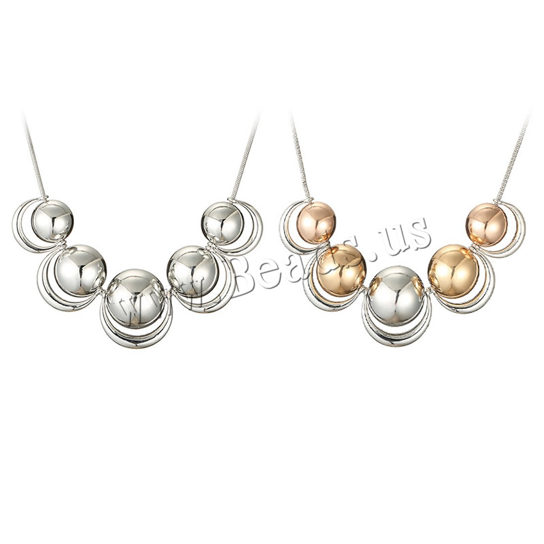 Buy Zinc Alloy Jewelry Necklace iron chain 5cm extender chain plated snake chain & woman colors choice lead & cadmium free 30mm Sold Per Approx 17.5 Inch Strand