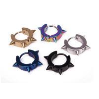 Titanstahl Hebel Rückseiten Ohrring, Edelstahl Hebel Rückseiten Ohrring Haken, Kreisring, plattiert, unisex, 18x4mmuff0c9mm, verkauft von PC