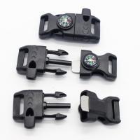 Überlebensarmband Verschluss, Kunststoff, mit Feuer-starter & mit Kompass & unisex, 2.58x6.2cm, verkauft von Strang