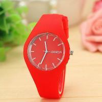 Geneva® Frauenuhr, Silikon, mit Glas, für Frau, keine, 39mm, Länge:ca. 9.4 ZollInch, verkauft von PC