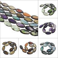 Natürliche Drachen Venen Achat Perlen, Drachenvenen Achat, keine, 22x40x6mm-20x38x5mm, Bohrung:ca. 2mm, 10PCs/Strang, verkauft per ca. 14.9 ZollInch Strang