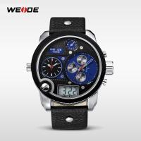 Weide® Uhrenkollektion, PU Leder, mit Zinklegierung Zifferblatt & Glas, plattiert, 30 m wasserdicht & unisex & einstellbar & LED, keine, 57x57x15mm, 28mm, Länge:ca. 8.6 ZollInch, verkauft von PC