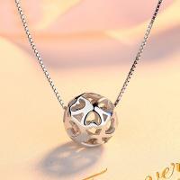Messing hohle Perlen, rund, Dick versilbert, frei von Nickel, Blei & Kadmium, 11x11mm, Bohrung:ca. 3-5mm, verkauft von PC