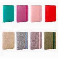 Papier Loose Leaf Notebook, mit Leinen & PU Leder, Rechteck, keine, 149x83mm, verkauft von PC