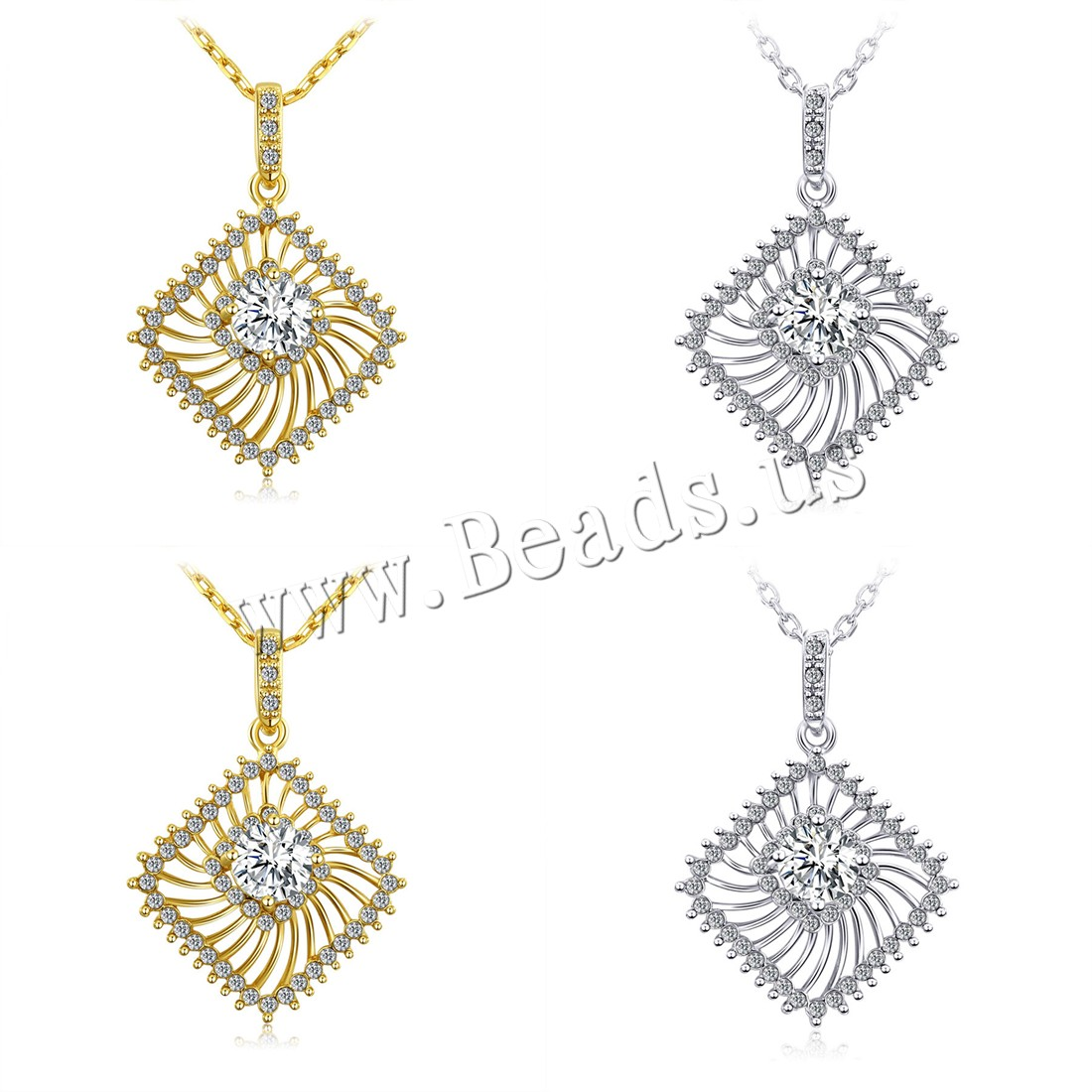 Buy Zinc Alloy Jewelry Necklace 2inch extender chain plated oval chain & woman & rhinestone & hollow colors choice nickel lead & cadmium free 38mm Sold Per Approx 17.7 Inch Strand
