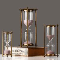 Hourglass Timer, Glas, mit Zinklegierung, verschiedene Größen vorhanden, verkauft von PC