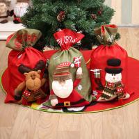 Nichtgewebte Stoffe Christmas Gift Bag, verschiedene Muster für Wahl, 56x35cm, verkauft von PC