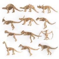ABS Kunststoff Simulation Tier Spielzeug, Dinosaurier, 12PCs/setzen, verkauft von setzen