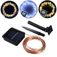 ABS Kunststoff LED-Streifen, Solar angetrieben & wasserdicht, keine, verkauft per ca. 10 m Strang