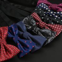 Krawatte, Polyester, Schleife, unisex & verschiedene Muster für Wahl, 12x6cm, verkauft von PC