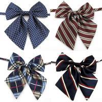 Krawatte, Kunstseide, Schleife, unisex & verschiedene Muster für Wahl, 13x14cm, verkauft von PC