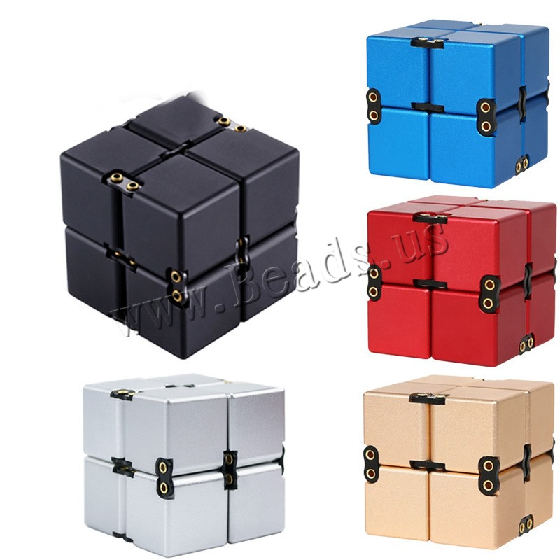 Buy Magic Rubik Speed Puzzle Cubes Toys Zinc Alloy Square plated stress relieve & Unisex colors choice lead & cadmium free 40x40x40mm Sold PC