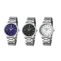 WWOOR® Collection Uhr, Edelstahl, mit Titan Legierung & Glas & Zinklegierung, plattiert, für den Menschen, keine, 40x12.5mm, Länge:ca. 8.5 ZollInch, verkauft von PC