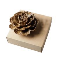 Räucherstäbchen, Porzellan, Lotus, handgemacht, buddhistischer Schmuck, 115x65mm, verkauft von PC