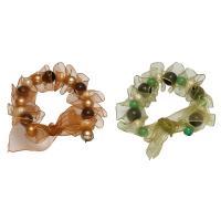 Südsee Muschel Armbänder, mit Organza, rund, für Frau, keine, 12mm, verkauft per ca. 7.5 ZollInch Strang