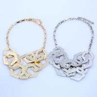Eisen Halsketten, mit Verlängerungskettchen von 5cm, plattiert, für Frau, keine, frei von Blei & Kadmium, 450mm, verkauft per ca. 17.5 ZollInch Strang