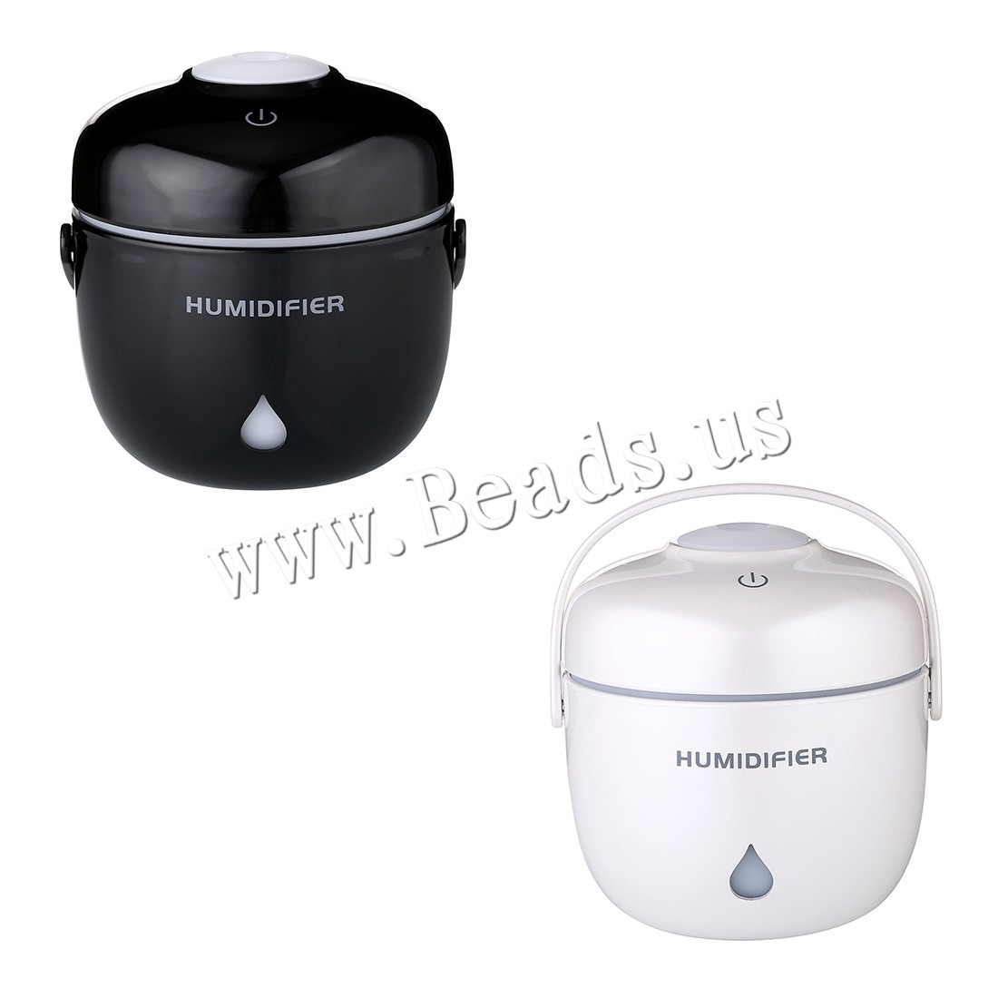 Buy Humidifiers & Accessories ABS Plastic Polypropylene(PP) 2-8hours' timing & less 1L & ultrasound & USB interface & LED colors choice 93x96x98mm Sold PC