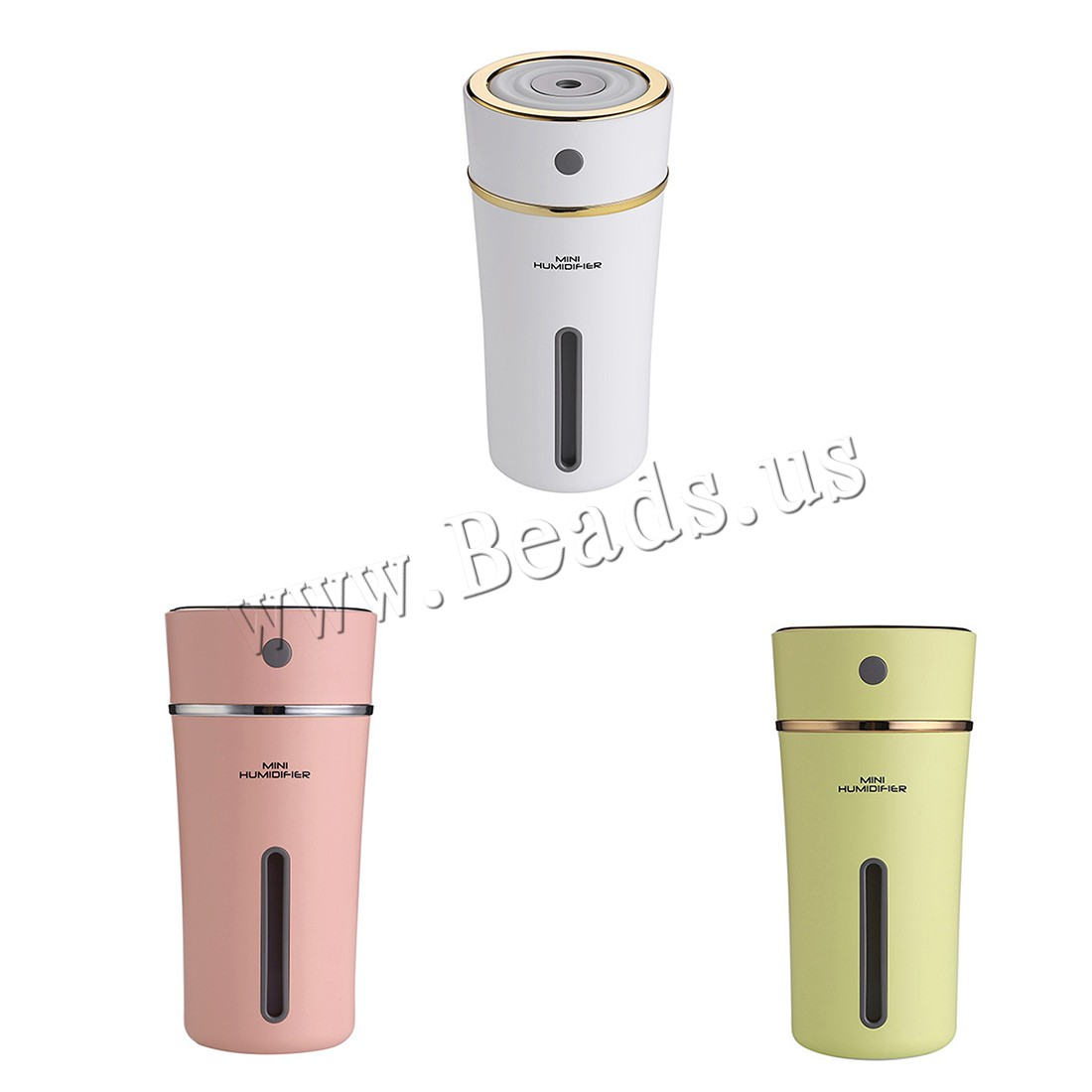Buy Humidifiers & Accessories ABS Plastic Polypropylene(PP) & Silicone Cup 2-8hours' timing & less 1L & ultrasound & USB interface & LED colors choice 65mm 80x165mm Sold PC