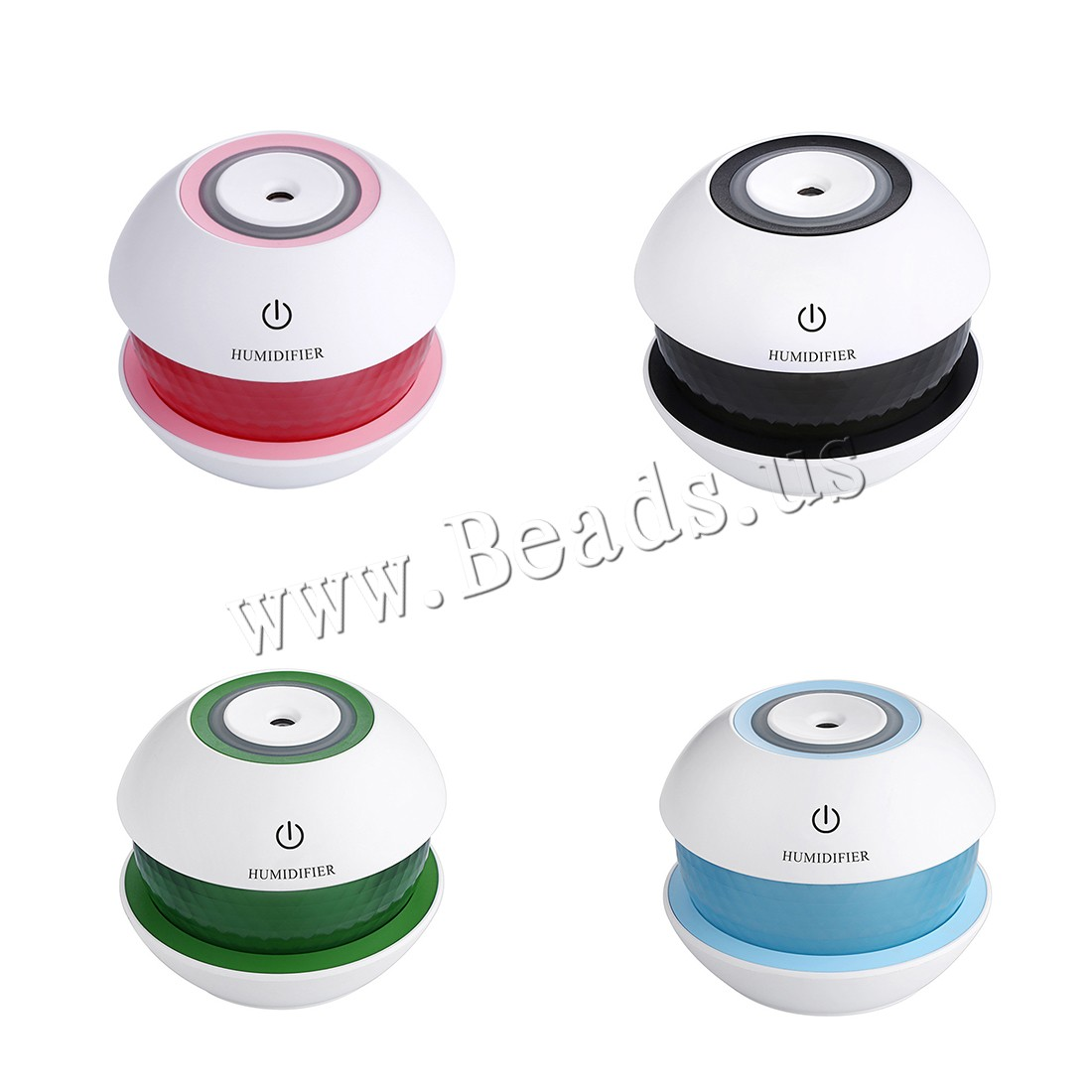 Buy Humidifiers & Accessories ABS Plastic Polypropylene(PP) 2-8hours' timing & less 1L & over-dry protection & USB interface & LED colors choice 102x104x87mm Sold PC