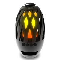 Bluetooth Lautsprecher, ABS Kunststoff, LED & hohl, schwarz, 99x179mm, verkauft von PC