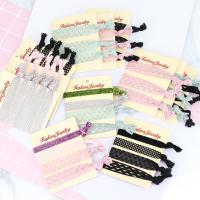 Elastisches Haarband, elastische Nylonschnur, verschiedene Stile für Wahl, 110mm, 3PCs/setzen, verkauft von setzen