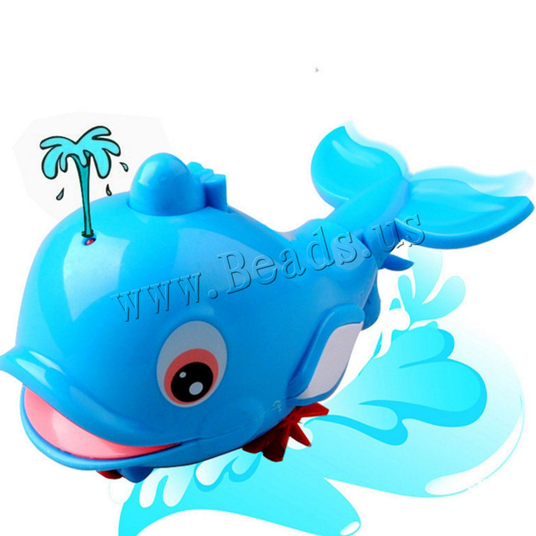 Buy Wind-Up Toys Plastic Dolphin children 60x140x90mm Sold Lot