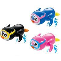 Wind-Up Toys, Kunststoff, Pinguin, für Kinder, 104x126mm, 3PCs/Menge, verkauft von Menge