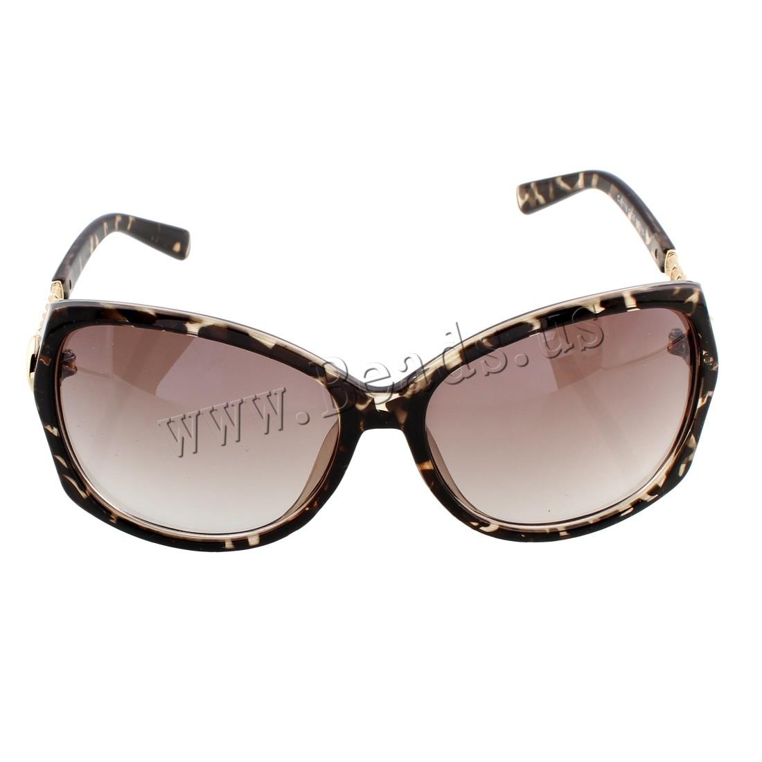 Buy Fashion Sunglasses Resin PC plastic lens anti ultraviolet & Unisex 140x50x135mm Sold PC