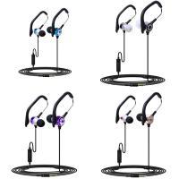 TPE beschalteter Ohrhörer, mit Aluminiumlegierung & PC Kunststoff & Silikon, Für 3.5mm Computerschnittstellengerät & Für Mobiltelefon, keine, 3.5mm, verkauft per ca. 98 ZollInch Strang
