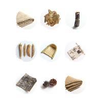 Leinen Photo Shoot Props, mit Holz, kakifarben, 500x500mm ,450x600mm ,100x130mm ,100x100m ,30x50mm ,130mm ,80mm, verkauft von setzen