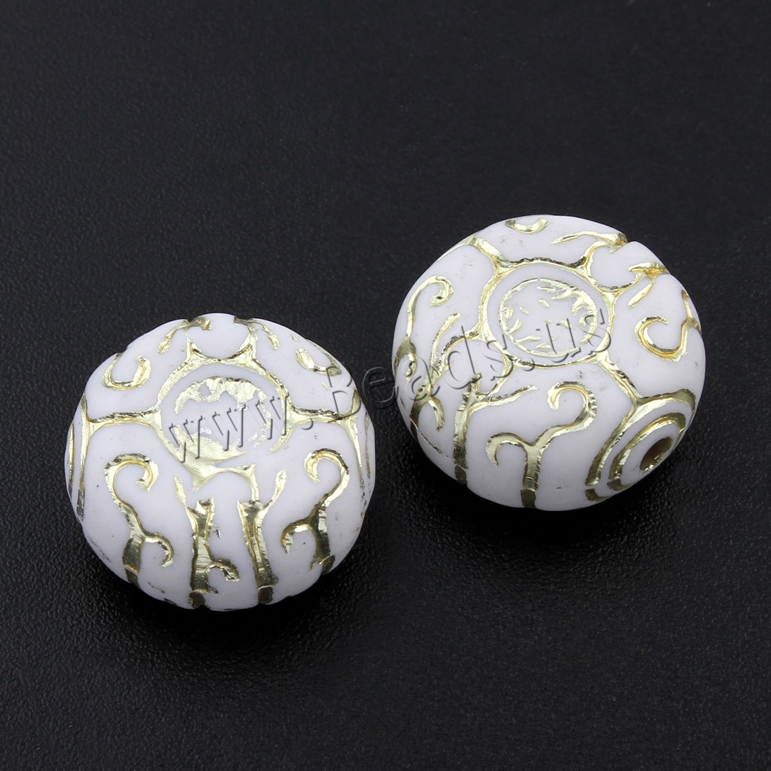 Buy Opaque Acrylic Beads 17x9mm Hole:Approx 1.5mm Approx 250PCs/Bag Sold Bag