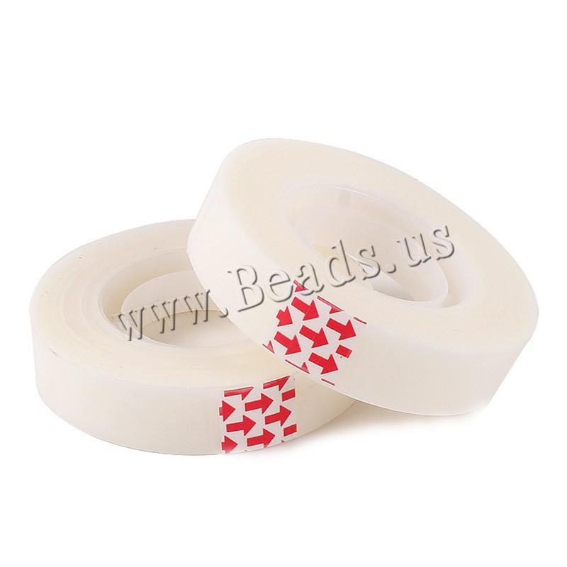 Buy Adhesive Tape PVC Plastic transparent nickel lead & cadmium free 12mm 1 Sold Lot