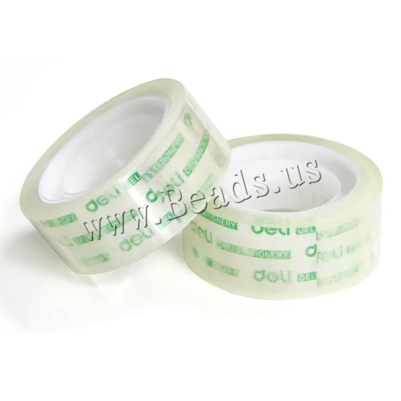 Buy Adhesive Tape PVC Plastic transparent 18mm 1 Sold Lot