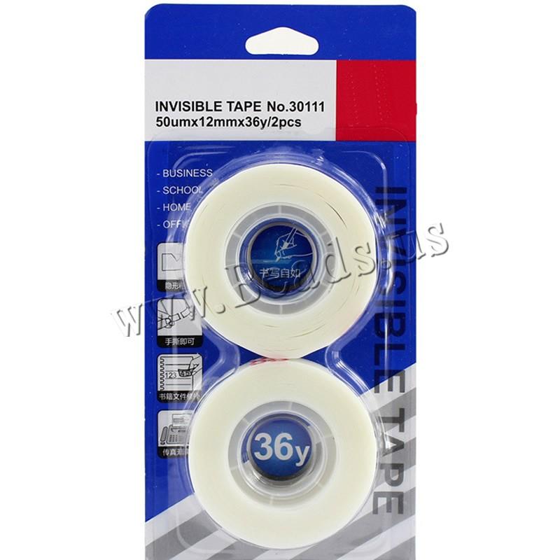 Buy Adhesive Tape PVC Plastic transparent 12mm 10Sets/Lot 2PCs/Set Sold Lot