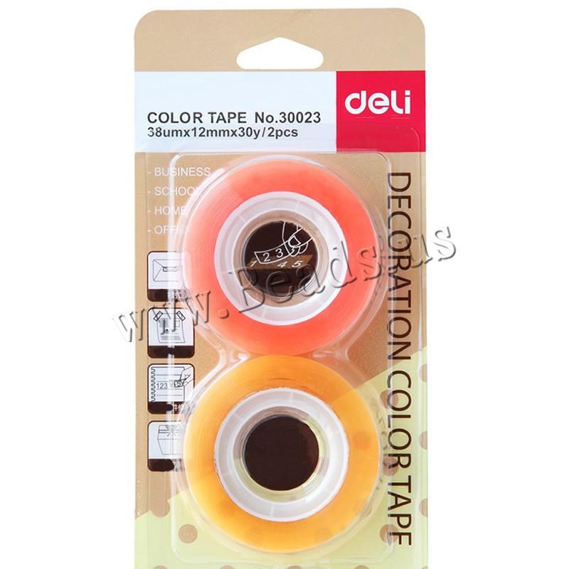 Adhesive Tape PVC Plastic transparent 12mm 10Sets/Lot 2PCs/Set Sold Lot