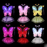 Kunststoff Kinder Bühnenkostüm, mit Chiffon, Schmetterling, verschiedene Stile für Wahl, 40x47cm, 35cm, verkauft von setzen