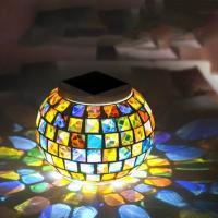 Nachtlampe, Edelstahl, rund, Solar angetrieben, 130x100mm, verkauft von PC