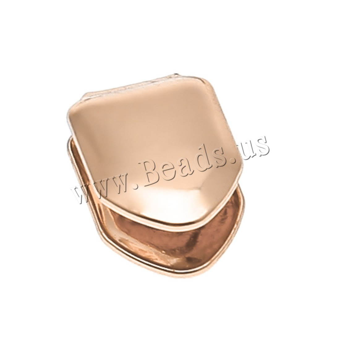 Buy Brass Hip Hop Single Tooth plated Unisex colors choice nickel lead & cadmium free 8x12mm Sold PC