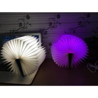 Nachtlampe, Acryl, mit PU Leder, Buch, automatisch die Farbe wechseln & LED, keine, 105x145x20mm, verkauft von setzen