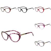 PC Kunststoff Brillenrahmen, mit Metallisches Legieren, unisex & verschiedene Muster für Wahl, 138x135x45mm, verkauft von PC
