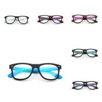 PC Kunststoff Brillenrahmen, unisex & verschiedene Muster für Wahl, 150x145x49mm, verkauft von PC