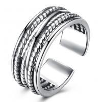 comeon® Finger-Ring, Thailand, unisex & einstellbar, 8mm, Größe:8, verkauft von PC