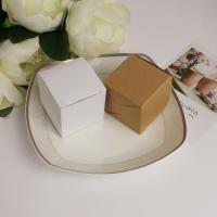Kraftpapier Hochzeit-Candy-Box, hohl, keine, 50x50x50mm, 100PCs/Menge, verkauft von Menge