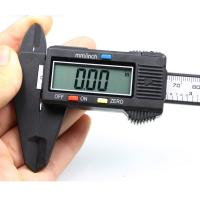 Nonius-Messschieber, Kunststoff, mit Zinklegierung, frei von Blei & Kadmium, 237x61mm, verkauft von PC
