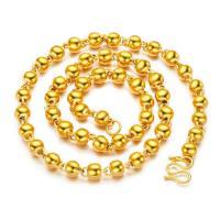 Messingkette Halskette, Messing, vergoldet, verschiedene Größen vorhanden & für den Menschen, frei von Nickel, Blei & Kadmium, verkauft per ca. 23.6 ZollInch Strang