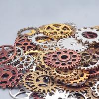 Zinklegierung Dichtbeilage, ZahnradRad, plattiert, keine, frei von Nickel, Blei & Kadmium, 16-26mm, 80PCs/Menge, verkauft von Menge