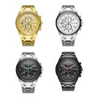 RISTOS® Uhrenkollektion, Edelstahl, mit Glas, plattiert, für den Menschen & glänzend, keine, 47x12mm, Länge:ca. 10 ZollInch, verkauft von PC
