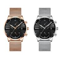 BIDEN® Uhrenkollektion, Edelstahl, mit Glas & Zinklegierung, plattiert, für den Menschen, keine, 42x11mm, Länge:ca. 9 ZollInch, verkauft von PC