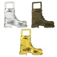 Zinklegierung Schuhe Anhänger, plattiert, keine, frei von Nickel, Blei & Kadmium, 35x43x5mm, Bohrung:ca. 11x10mm, ca. 100PCs/Tasche, verkauft von Tasche